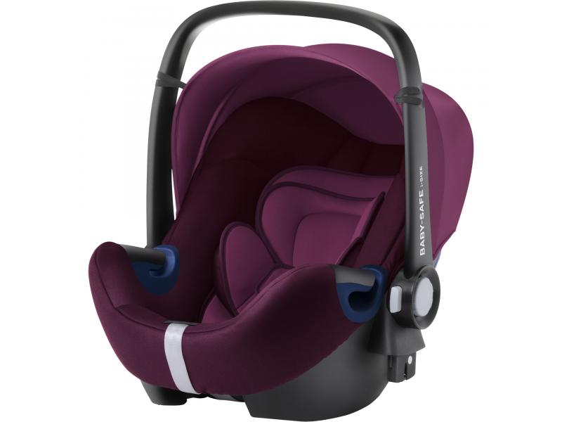 Autosedačka Baby-Safe 2 i-Size, Burgundy Red 1