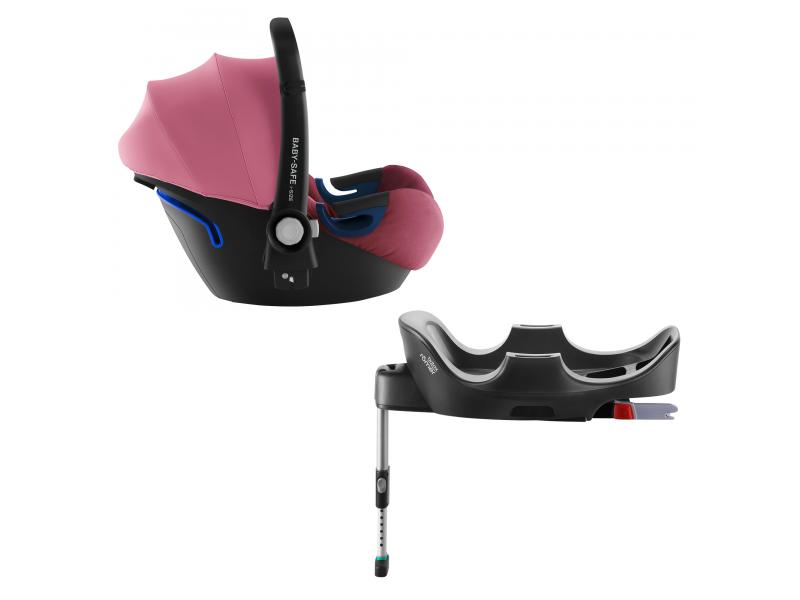 Autosedačka Baby-Safe 2 i-Size Bundle Flex, Wine Rose 1
