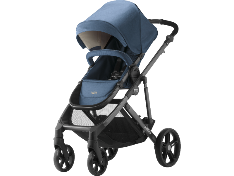 Britax Römer Kočárek B-Ready, Blue denim