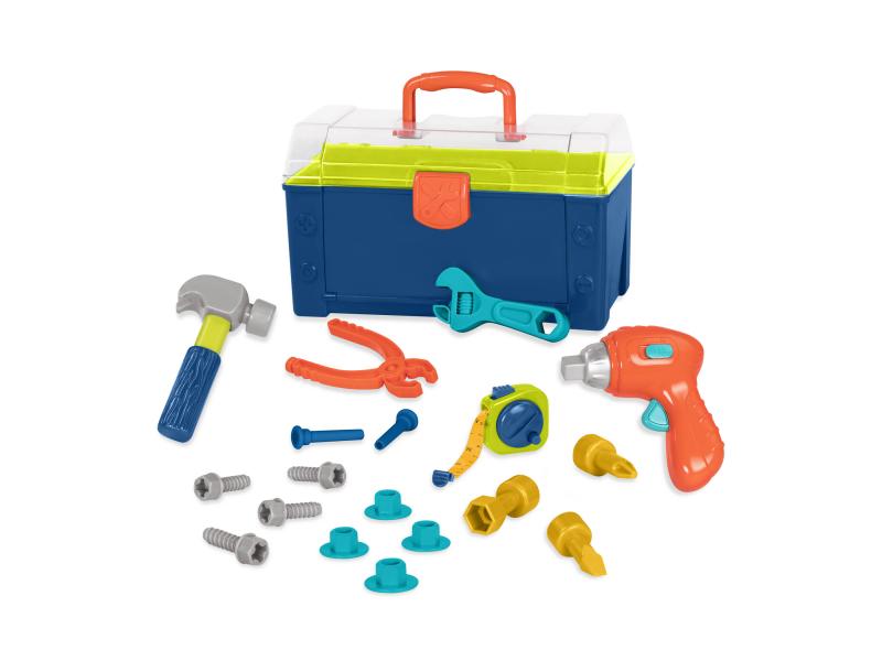 Sada nářadí v kufříku Busy Builder 1
