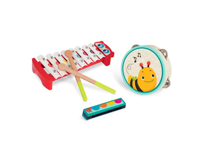 Hudební nástroje dřevěné Mini Melody Band 1