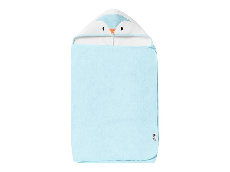 Osuška s kapucí Hug 'n' Dry 6-48m Percy Blue 1