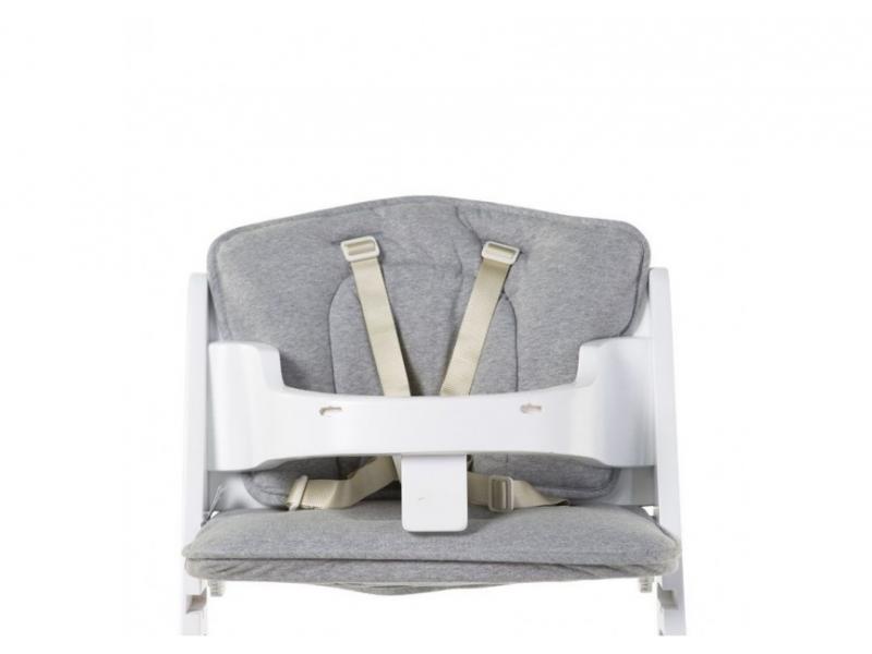 Childhome Sedací polštářky do rostoucí židličky Jersey Grey