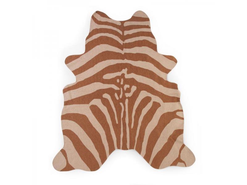 Koberec Zebra hnědý 145x160 cm 1