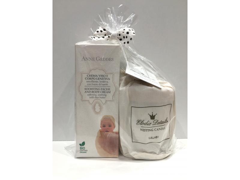 Dárkové balení svíčky a luxusní kosmetiky 1