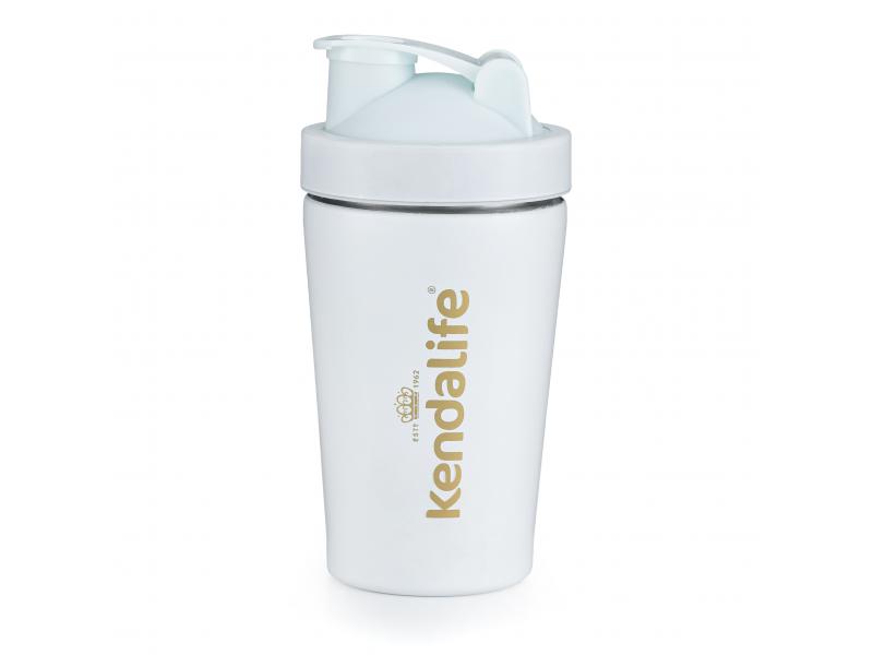Kendalife Shaker nerezový bílý (600 ml) 1