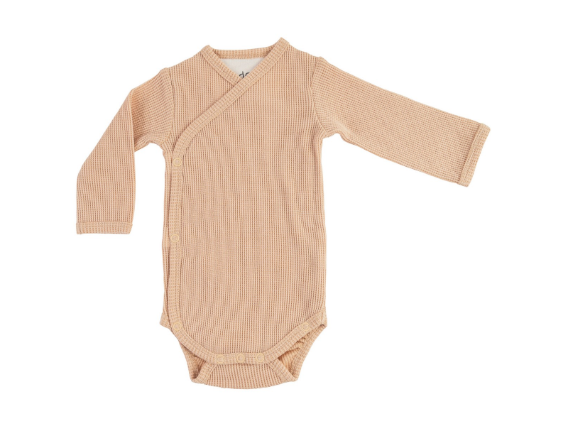 Romper Long Sleeves Ciumbelle Linen vel. 68 1