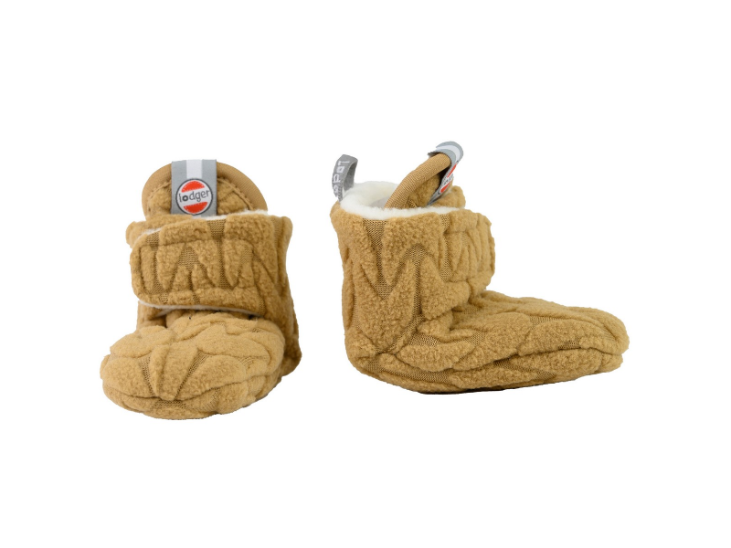 Slipper Fleece Empire Dark Honey 12 - 18 měsíců 1