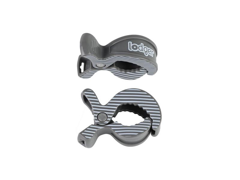 Swaddle Clip print 2balení Carbon-Stripe 1