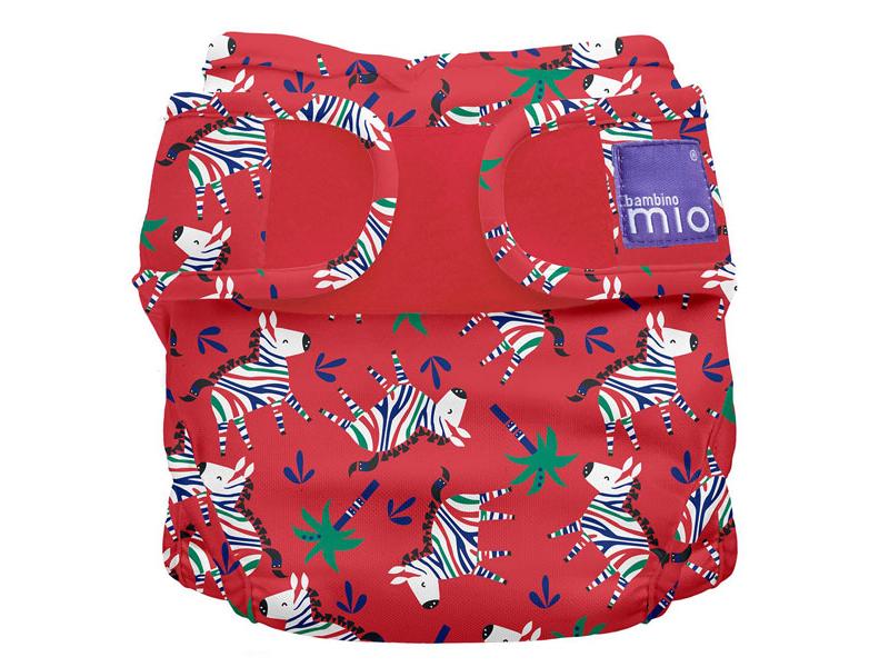 Miosoft plenkové kalhotky Zebra Dazzle 3-9kg 1
