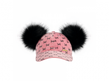 Bjällra of Sweden Kšiltovka Pink Bow Collection
