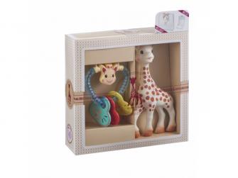 Můj první dárkový set (žirafa Sophie & oblíbené francouzské chrastítko) 2