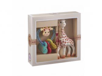 Můj první dárkový set (žirafa Sophie & oblíbené francouzské chrastítko)