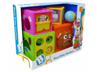 Skládací kostky Busy Baby Stackers 2