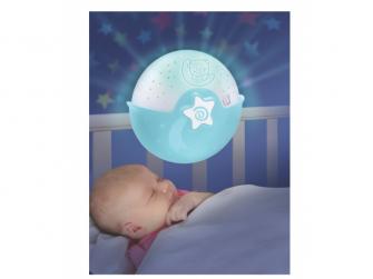 Noční lampička s projekcí modrá 4