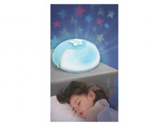Noční lampička s projekcí modrá 2