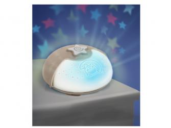 Noční lampička s projekcí ecru 4
