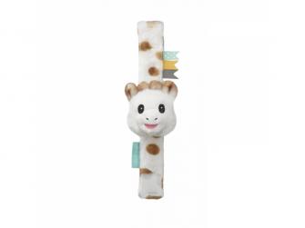 Pásek na ruku / nohu s plyšovým chrastítkem žirafa Sophie