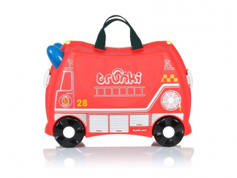 Kufřík + odrážedlo hasičský vůz Frankie 2