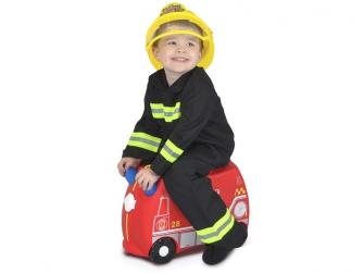 Kufřík + odrážedlo hasičský vůz Frankie 6
