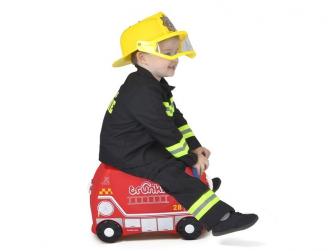 Kufřík + odrážedlo hasičský vůz Frankie 8