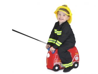 Kufřík + odrážedlo hasičský vůz Frankie 9