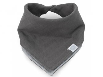 Bryndák - Bandana bib Duo grey 2ks, DUO GREY