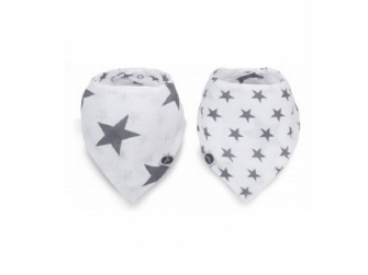 Bryndák - Slab bandana  - růžek, Little star anthracite