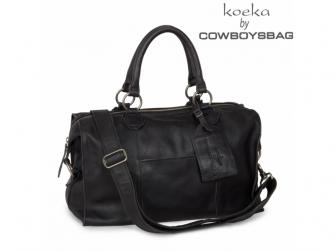 Lugnano přebalovací taška z kůže - dark grey leer 3