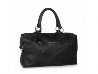 Lugnano přebalovací taška z kůže - dark grey leer 2