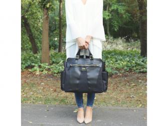 Přebalovací taška na kočárek SOHO, black 7
