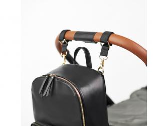 Přebalovací batoh na kočárek MOON, black 10