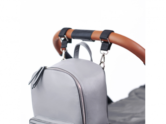 Přebalovací batoh na kočárek MOON, dark grey 12