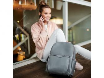 Přebalovací batoh na kočárek MOON, dark grey 15