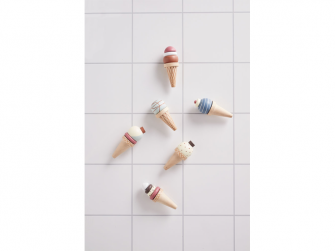 Zmrzlina dřevěná se stojanem Bistro 2
