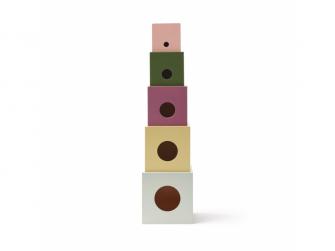 Kostky dřevěné vkládací Edvin 5 ks