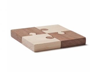 Puzzle dřevěné 4 ks Neo 2