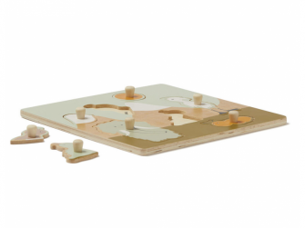 Puzzle dřevěné s úchytkami Neo 2