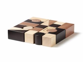 Kostky dřevěné 21 ks Neo 2