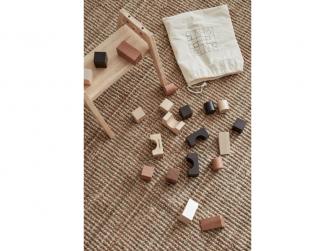 Kostky dřevěné 21 ks Neo 4