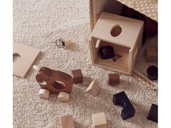 Mamut na kolečkách dřevěný Neo 2