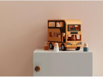 Autobus Doubledecker Aiden dřevěný 6