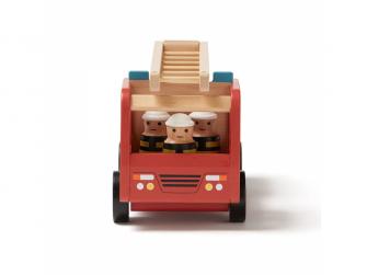 Hasičský náklaďák Aiden dřevěný 2