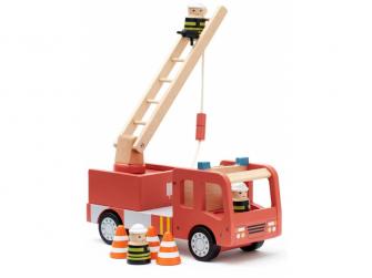 Hasičský náklaďák Aiden dřevěný 4