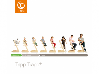 Židlička Tripp Trapp® - Hazy Grey 2