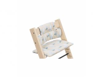 Polstrování classic k židličce Tripp Trapp® Birds Blue OCS