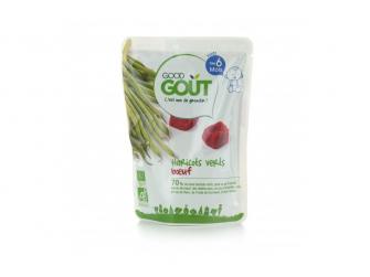 Kapsička BIO Zelené fazolky s hovězím masem 190 g