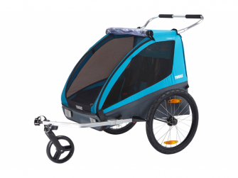 Coaster XT bike trailer+Stroll