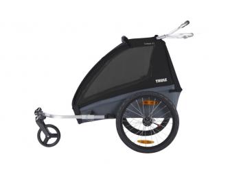 Thule Coaster XT bike trailer+Stroll Black 2