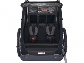 Thule Coaster XT bike trailer+Stroll Black 4